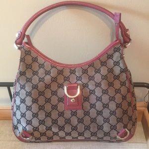 Gucci Vintage mini hobo bag